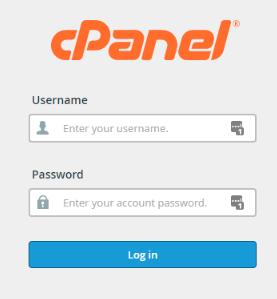 login_cpanel