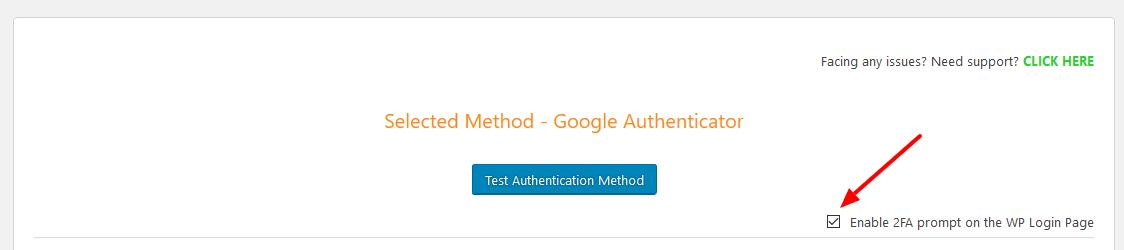 Website Security 2FA