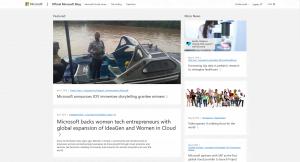 microsoft blog wordpress