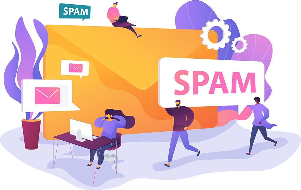 Spam Illustration